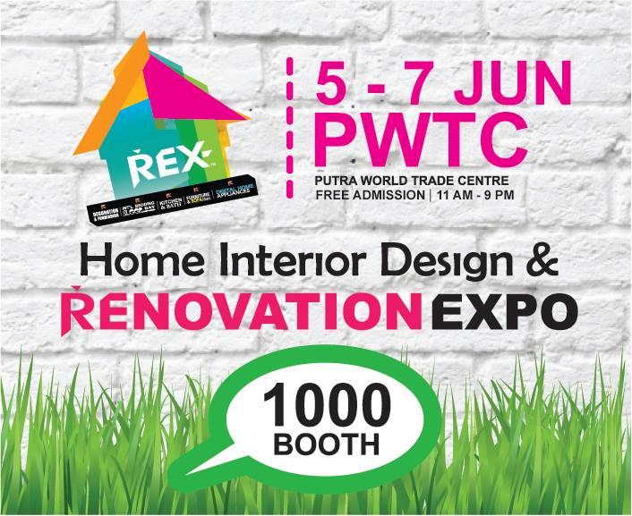 REX Renovation Expo 5 7 June RenoTalk