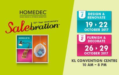 HOMEDEC Salebration Oct 2017