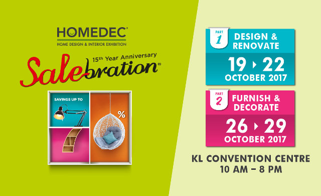 HOMEDEC Salebration Oct 2017